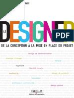 Le Designer de La Conception a La Mise en Place Du Projet
