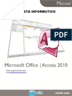 Manual Access 2013