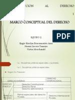 EXPOSICIÓN MARCO CONCEPTUAL DEL DERECHO (1)