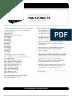 Avid's P2 Camera Compatibility FAQ