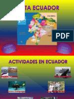 Turismo en Ecuador