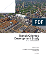 Transit Oriented Development Study for the Cortex District PDF