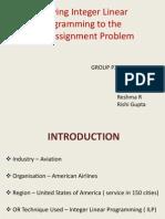 Fleet Assignment Problem_Group P2
