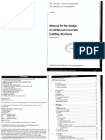 Manual for the Design of Reinforced Concrete Building Structure 2002