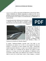 Resumen de La Historia Del Tren Bala