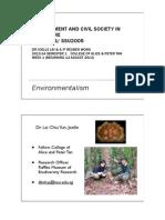 Week1 Intro-Environmentalism 12.8.13