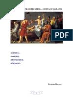 Sofistas y Socrates