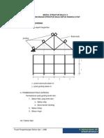 Perencanaan Struktur Baja Untuk Rangka Atap