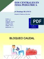 Bloqueos Rgionales Centrales- Blanco