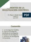 02. Elementos de la Investigación Científica