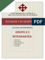 Ecuador y Su Geopolitica (Estudios Contemporaneos)
