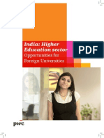 India Higher Edu Sector (251012)