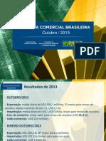Balanca Comercial Brasileira - Out-2013