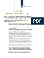 Essential Oils for Cosmetics in Germany