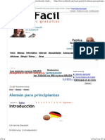 Curso  de Alemán para principiantes - Introducción
