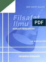Cover Filsafat Ilmu