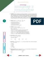 Equações e Inequações