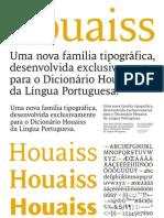 Houaiss Font Brochure