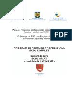 ECDL Start Manual modulele 1,2, 3, 7
