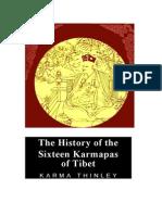 The History of the Sixteen Karmapas