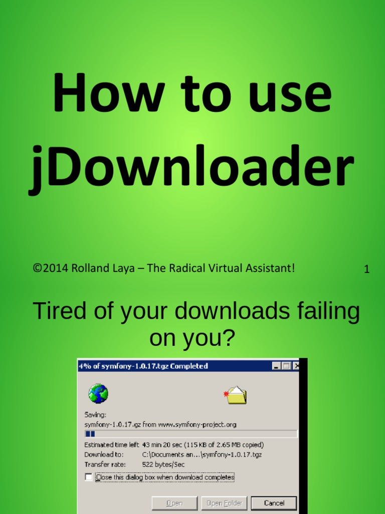 How to use jDownloader   Computing Platforms   Utility Software
