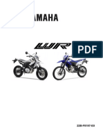 Yamaha Wr125 Service Manual