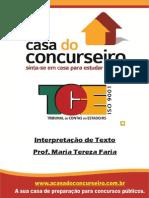 INTERPRETAÇÃO - CESPE - CASA DO CONCURSEIRO