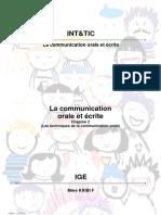 CHAP 2 Techniques de Communication Orale