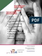 Aspergers and Communications Skills