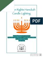 Human Rights Hanukah Candle Lighting-Final