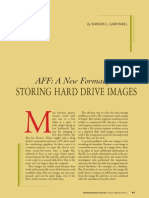 AFF - A New Format for Storing Hard Drive Images