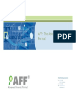 AFF - Advanced Forensic Format