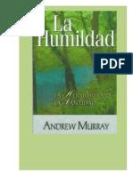 Andrew Murray - Humildad, La Belleza de La Santidad