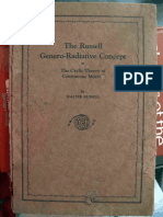 Genero Radiative Concept or the Cyclic Theory of Continuous Motion by Walter Russell