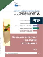 2011 Consumer Behaviour Online