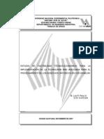 Estudio Factibilidad Tecnico Economico Procesamiento Desechos Catodicos