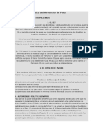 Organización política del Virreinato de Peru