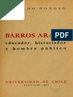 Biografia de Barros Arana