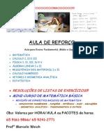 DIVULGAÇÃO AULA PARTICULAR DE REFORÇO