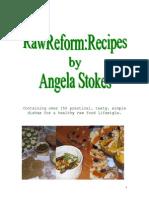 Angela Stokes - Raw Reform Recipes
