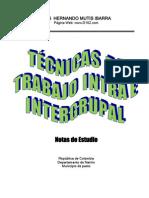 Técnicas de trabajo intra e intergrupal