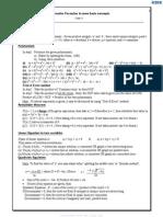 Maths Formulae Class x