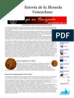 Historia de La Moneda en Venezuela