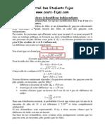 Comparaison de Deux Echantillons Independants-www.cours-fsjes.com