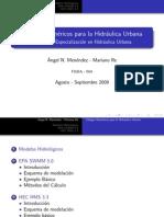 Codigos Numericos Para La Hidraulica Urbana (INA)