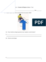 Teorema de Pitágoras e Áreas - Matemática - 8.º ano.doc
