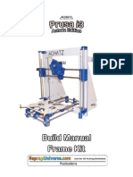 Prusa i3 Achatz Edition Frame Kit Manual