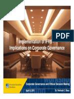 IFRS & Corp. Governance - Dun & Bradstreet April, 2011