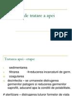 Dezinfectia Apei