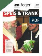 Speis Und Trank - Ausgabe 25 2013 des strassenfeger
